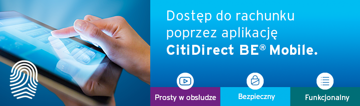 CitiDirect BE Mobile