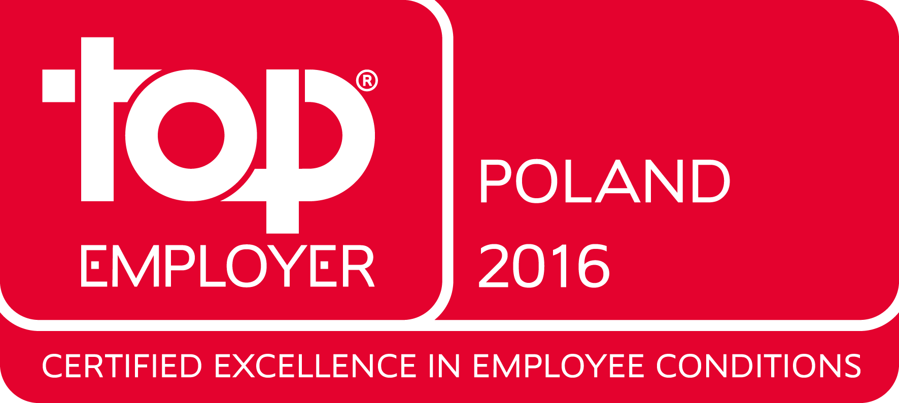 Top Employers Poland 2016 for Citi Handlowy and CSC Polska